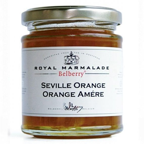 Mermelada de naranjas de Sevilla 215gr. Belberry. 6 Unidades