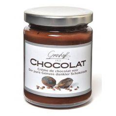Crema de chocolate negro 250gr. Grashoff. 6 Unidades