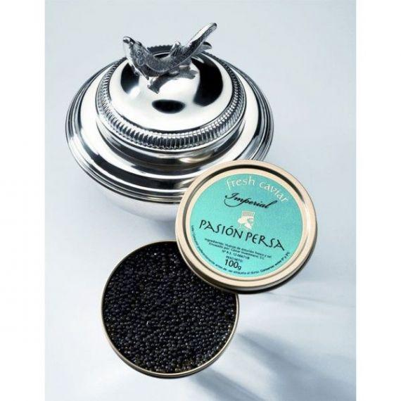 Caviar Imperial de cultivo 200gr. Marine Food. 1 Unidades
