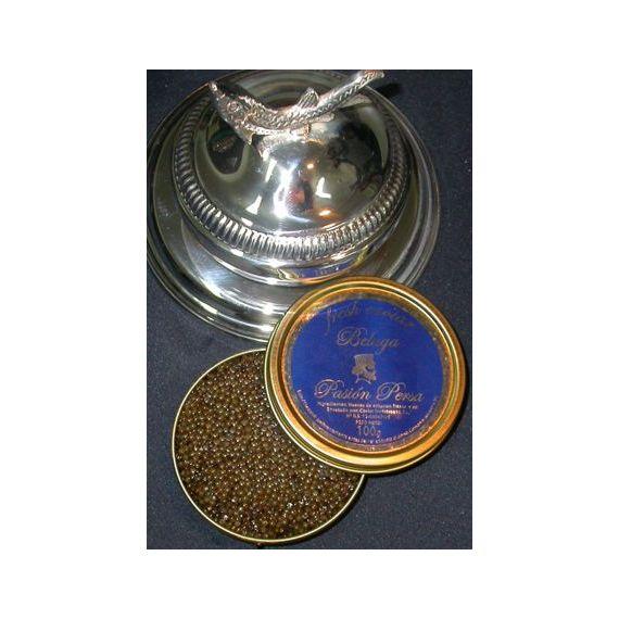 Caviar Beluga de cultivo 30gr. Marine Food. 1 Unidades