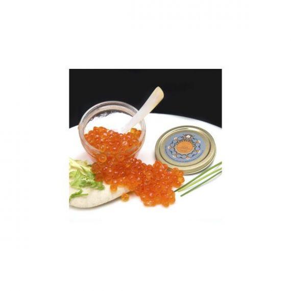 Caviar de Salmón Salvaje del Pacífico 50gr. Marine Food. 6 Unidades