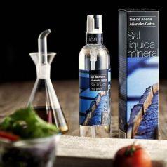 Sal líquida mineral 300ml. Sal de Añana. 6 Unidades