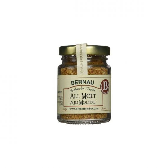 Ajo molido 60gr. Bernau Herbes de l\'Urgell. 12 Unidades