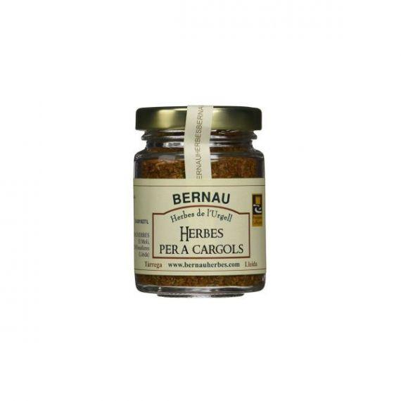 Hierbas para caracoles 50gr. Bernau Herbes de l\'Urgell. 12 Unidades