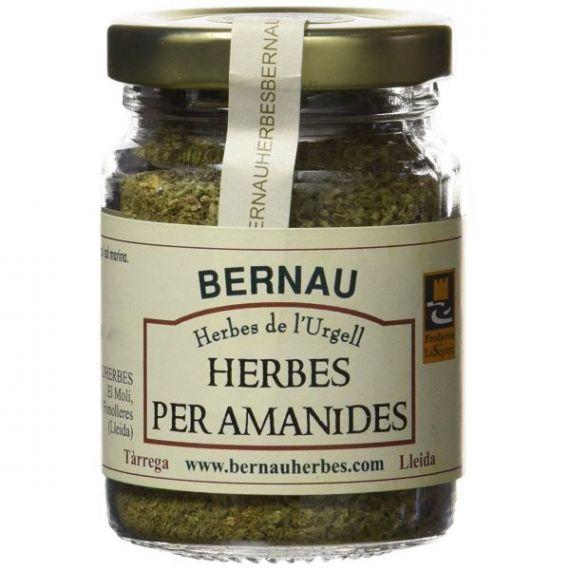 Sal con hierbas para ensaladas 70gr. Bernau Herbes de l\'Urgell. 12 Unidades