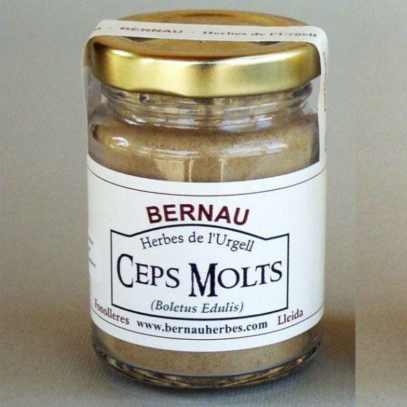 Ceps secos molidos 40gr. Bernau Herbes de l\'Urgell. 12 Unidades