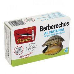 Berberechos al natural de Rias Gallegas OL-120, 35/45u. Dardo. 25 Unidades