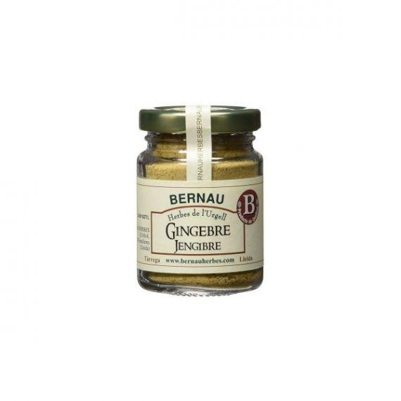 Jengibre molido 40gr. Bernau Herbes de l\'Urgell. 12 Unidades