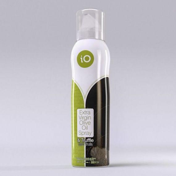 Spray Aceite Oliva Virgen Extra Trufa Negra 200ml. Vianoleo. 12 Unidades