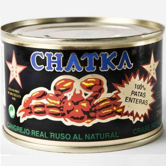 100% Patas Chatka al natural 220gr. Chatka. 6 Unidades