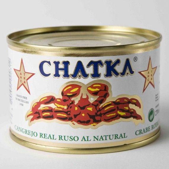 60% Patas Chatka al natural 220gr. Chatka. 6 Unidades