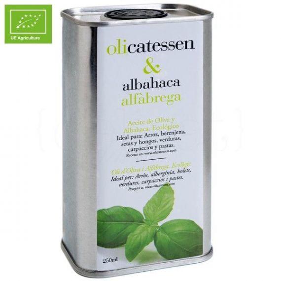 Olicatessen & Albahaca 250ml. Olicatessen. 12 Unidades