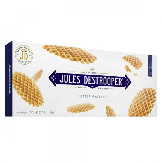Biscuits Gofres de París 100gr. Jules Destrooper. 12 Unidades