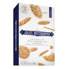 Biscuits Dentelles con Nuez de Anacardo 75gr. Jules Destrooper. 14 Unidades
