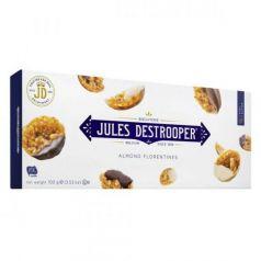 Florentinas con Almendras recubiertas de Chocolate 100gr. Jules Destrooper. 12 Unidades