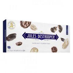 Florentinas Avellanas y Arroz recubiertas de Chocolate 100gr. Jules Destrooper. 12 Unidades
