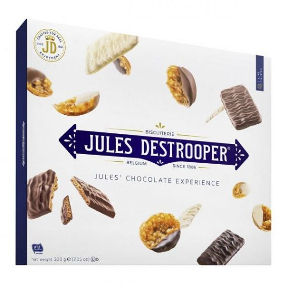 Surtido Chocolate Experience 200gr. Jules Destrooper. 6 Unidades