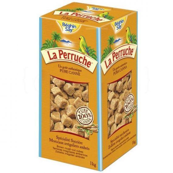 Azúcar Moreno Terrones 750g. La Perruche. 8 Unidades
