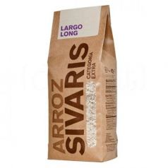 Arroz Largo 1kg. Sivaris. 6 Unidades