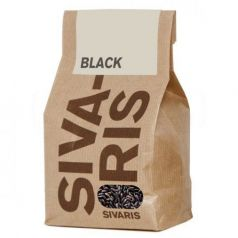 Arroz Black (papel kraft) 500gr. Sivaris. 6 Unidades