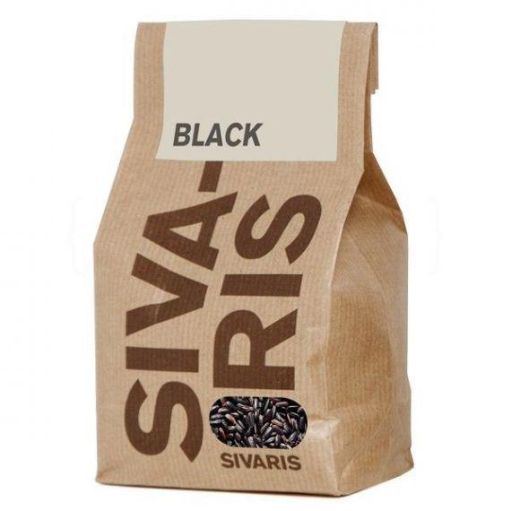 Arroz Black (papel kraft) 500gr. Sivaris. 6 Unidades