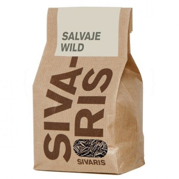 Arroz Salvaje (papel kraft) 500gr. Sivaris. 6 Unidades