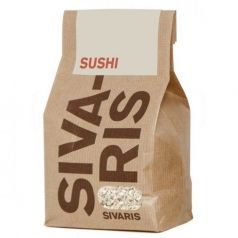 Arroz Sushi (papel kraft) 500gr. Sivaris. 6 Unidades