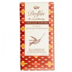 Chocolate Negro 88% de República Dominicana 30gr. Dolfin. 25 Unidades