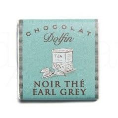 Chocolate Negro Early Grey 4,5gr. Dolfin. 360un.