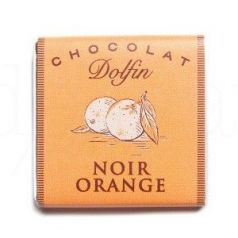 Chocolate Negro Naranja 4,5gr. Dolfin. 360 Unidades