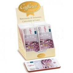 Expositor Billete Chocolate con leche 100gr. Caffarel. 2un.