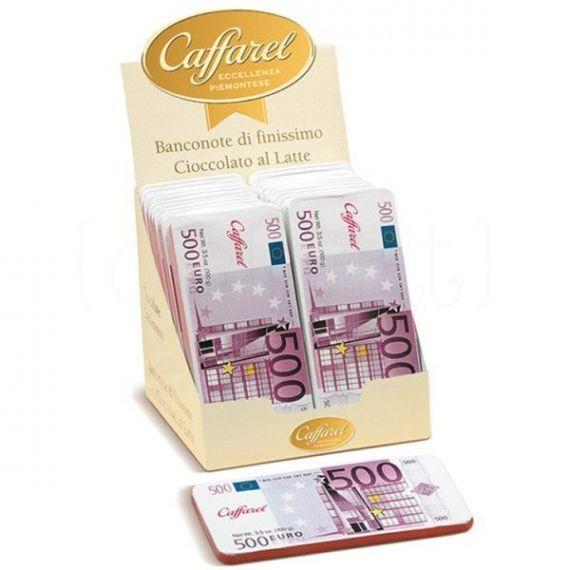 Expositor Billete Chocolate con leche 100gr. Caffarel. 2 Unidades