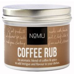Coffee Rub 70gr. NoMU. 8 Unidades
