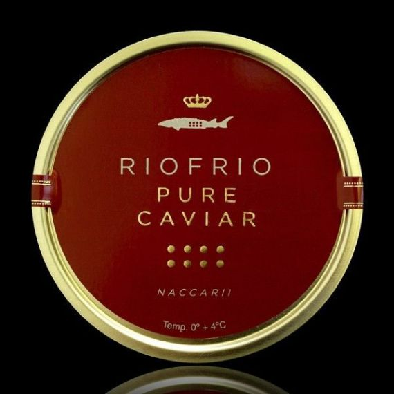 Caviar de Riofrío Tradicional Clásico 100gr. Riofrío. 1 Unidades