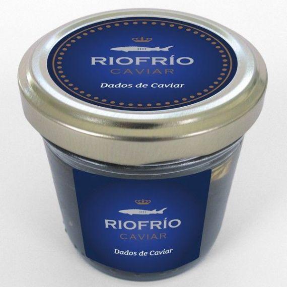 Dados de Caviar 30gr. Riofrío. 6 Unidades