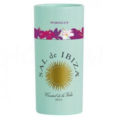 Granito con Hibiscus 90gr. Sal de Ibiza. 12 Unidades