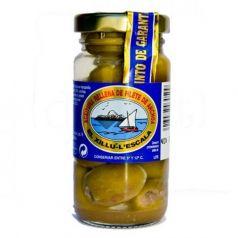Aceituna rellena de filete de anchoa 90gr. Anxoves El Xillu. 12 Unidades