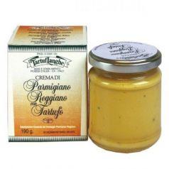 Crema de Parmesano Reggiano D.O.P. con Trufa 190gr. Tartuflanghe. 12 Unidades