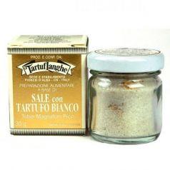 Sal gris de Guérande con Trufa blanca 30gr. Tartuflanghe. 12 Unidades