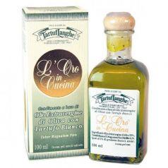 Aceite de Oliva Virgen Extra con Trufa Blanca 100ml. Tartuflanghe. 12 Unidades