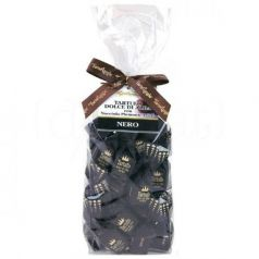 Pralinés Dulces de Chocolate Negro 200gr. Tartuflanghe. 12 Unidades