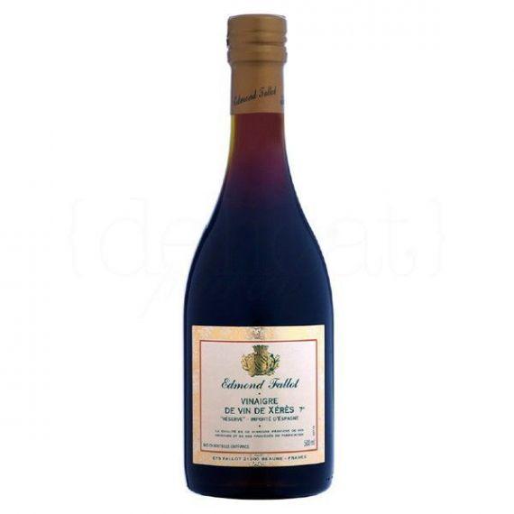 Vinagre de Jerez 50cl. Edmond Fallot. 6 Unidades