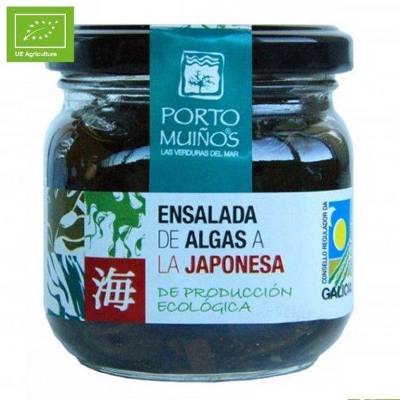 Ensalada de algas a la japonesa Ecológico (cristal) C212. Porto-Muiños. 12 Unidades