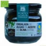 Ensalada de algas en Aceite de Oliva Ecológico (cristal) C212. Porto-Muiños. 12 Unidades