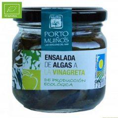 Ensalada de algas a la vinagreta Ecológico (cristal) C212. Porto-Muiños. 12 Unidades