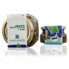 Salsa Pesto de algas C212. Porto-Muiños. 12 Unidades