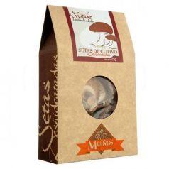 Shiitake deshidratado (Lentinula edodes) 25gr. Porto-Muiños. 4 Unidades