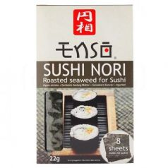 Alga nori para sushi 11gr. Enso. 12 Unidades