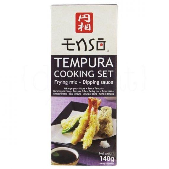 Cooking Set Tempura 140gr. Enso. 6 Unidades