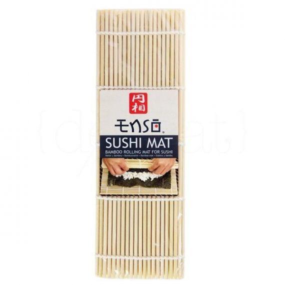 Esterilla para sushi 25x24cm. Enso. 12 Unidades